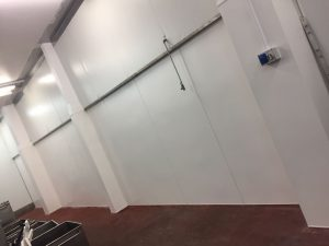 THC Midlands Hygienic Wall & Ceiling Installation PVC Cladding After